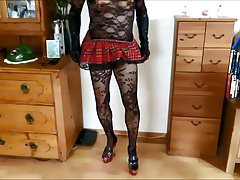 muddy gurly in sizzling nylons