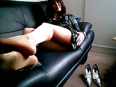 ladyboy stockings taunt