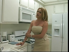 Spectacular blondie  gets her  yam-sized rod bj'ed