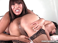 Vanity and Ava Devine anal invasion munching and smashing