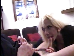 Italian tranny tricked by her boyfriend into a gang-bang pt1