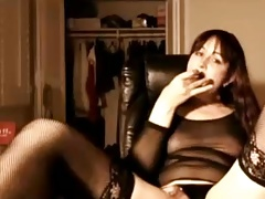 Super-sexy t-girl trap  on web cam