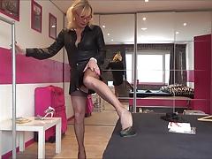 stocking  female