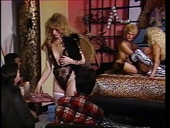 Mature woman deep-throats on a large milky  trouser snake deep and quick