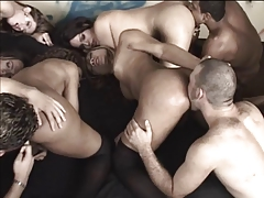 Studs tonguing   and  a reach around