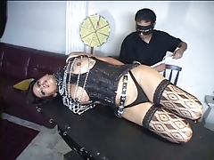3 transgender princesses and their  into restrain bondage