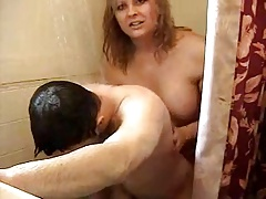 super-fucking-hot Ladyboy pulverizing Fellow in Bathroom