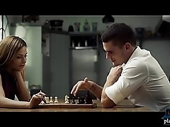 Russian the man MILF Subil Major fucks sign in a playfulness chess