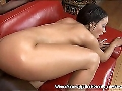 Aliana Love's Shaved Unconscionable Pussy Creampied Wide of Perfidious Padre