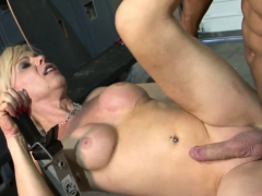 Tgirls prat creampied