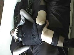 Crossdressing oral  3 of 5
